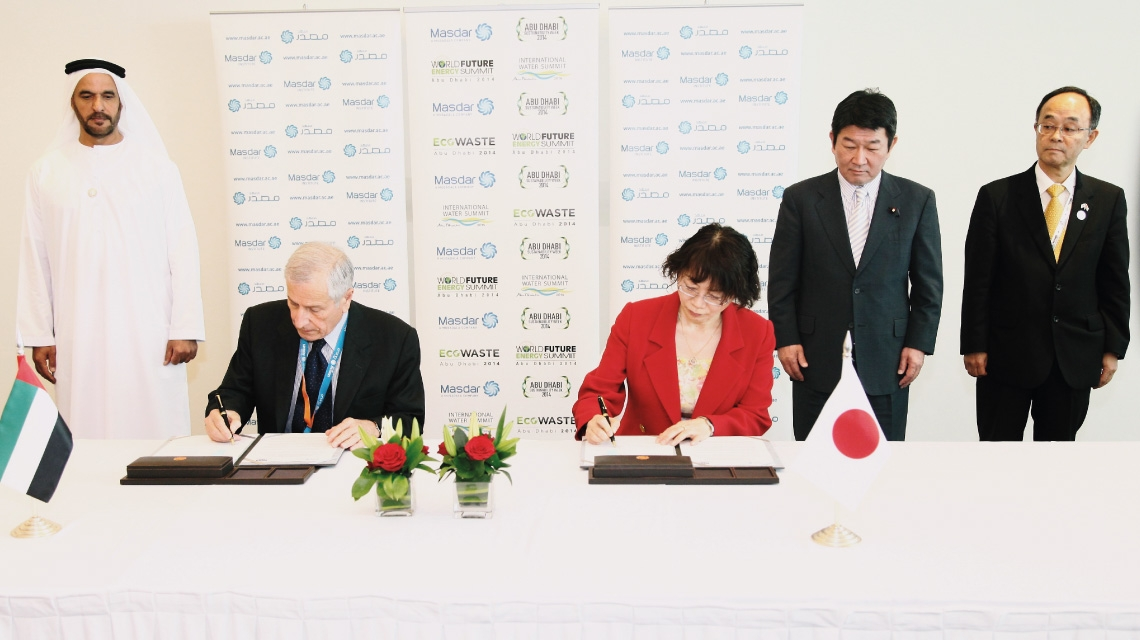 Masdar Institute and Japan International Cooperation Center Set Collaboration Framework for Annual Internship in Japan
