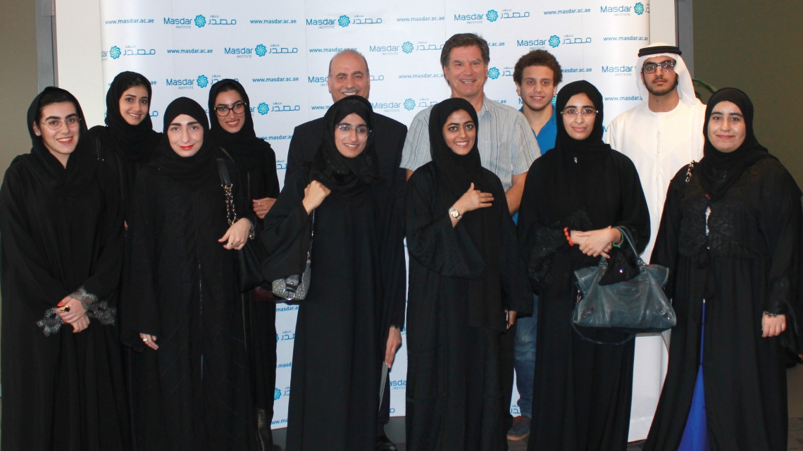 Three Outreach Initiatives Offer A Taste of Masdar Institute's Academic and Research Offerings
