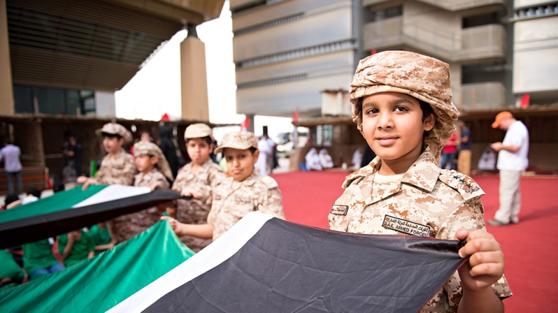 Masdar Institute Celebrates 45th UAE National Day with Focus on Honoring the Past by Innovating the Future