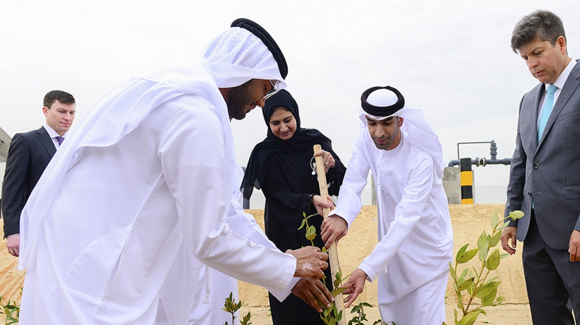 SBRC Inaugurates World's First Facility to Grow Both Food and Fuel in the Desert