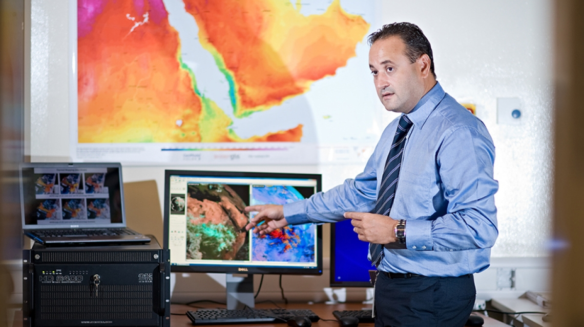 Real-Time Dust Storm Forecasting