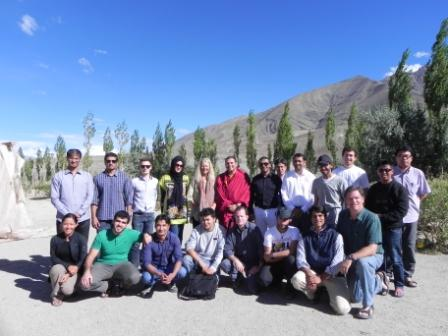 YFEL Members Collect Real-life Data for Projects in Sustainability near Ladakh