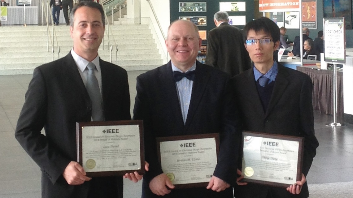 Joint Scientific Paper by Masdar Institute and MIT Wins IEEE EDA Best Paper Award for 2014