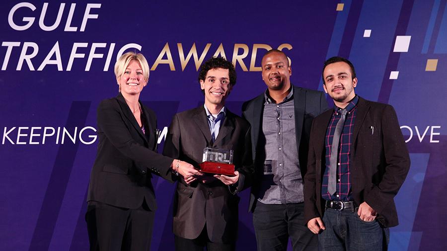 Masdar Institute Team Wins Transport Research Laboratory Student Award 2016 for Innovative Transport Solution