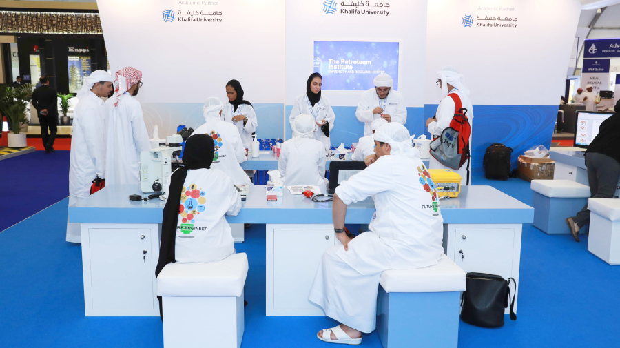 Students and Faculty Drive Knowledge Exchange at ADIPEC 2018
