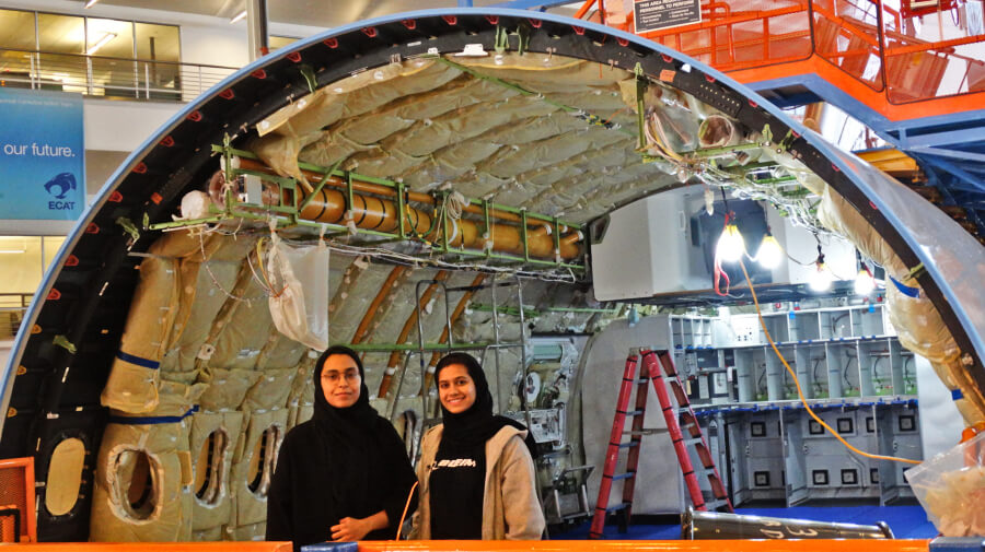 Alumni File Patents through Mubadala-Boeing Internship Program
