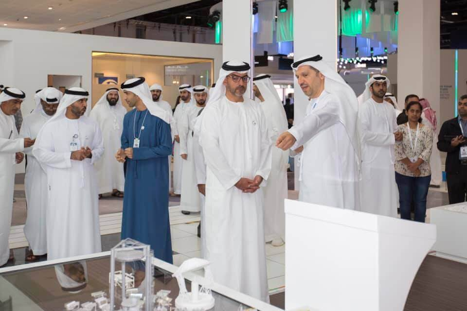 His Highness Sheikh Hamed Visits KU Stand at WFES 2019
