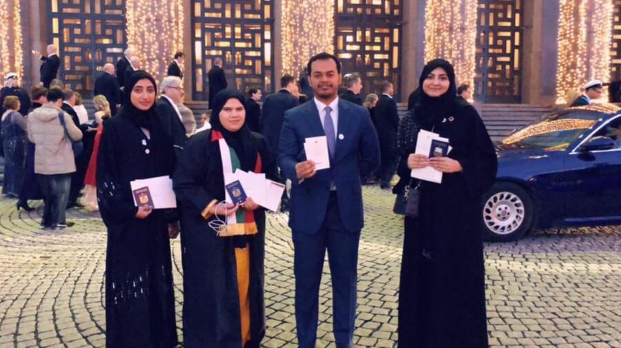 Alumnus Represents KU at 2018 Nobel Prize Award Ceremonies in Stockholm