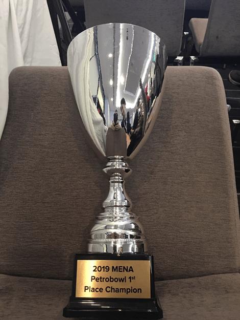 Khalifa University Wins 2019 MENA SPE PetroBowl® Regional Championship in Bahrain
