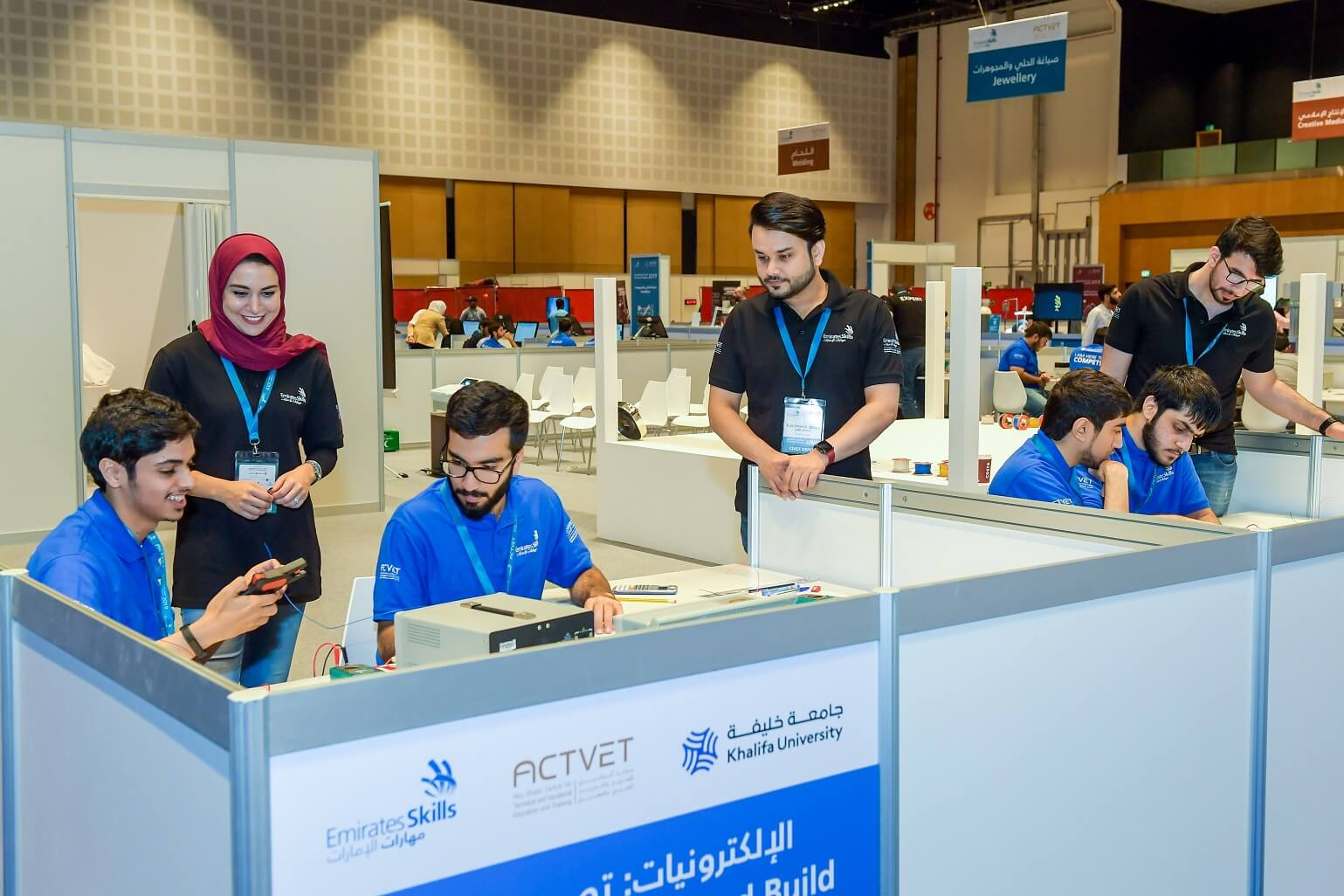 Khalifa University Organizing ETIC for 7th Successive Year at Emirates Skills National  Competition 2019