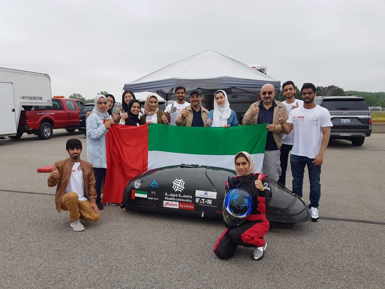 SparKU Student Team Wins 8th Place in SAE Supermileage