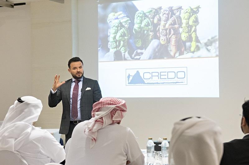 KU Employees Attend CREDO™ Board Simulation Leadership Training