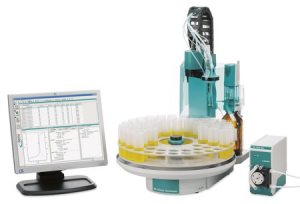 PC-controlled Auto Titration with Sampler