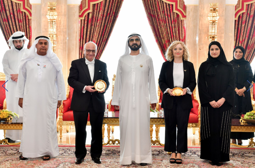 Sheikh Mohammed bin Rashid announces KU professor as scientific medal winner