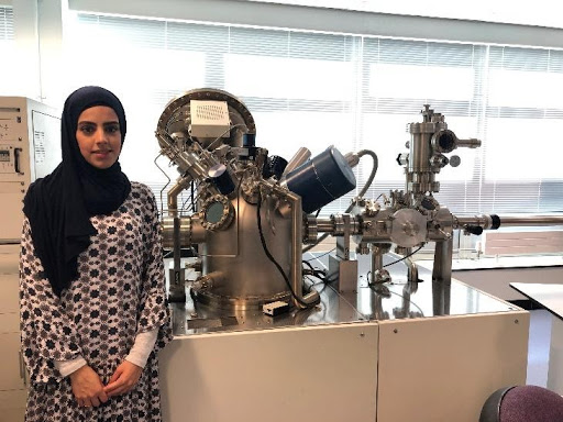 CeCaS fulfilling its Educational Mission: A National MSc student received training on state-of-the-art X-ray Photoelectron Spectroscopy (XPS) at the University of Surrey (UK)
