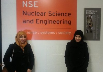 Khalifa University Students Present Their Research to the American Nuclear Society