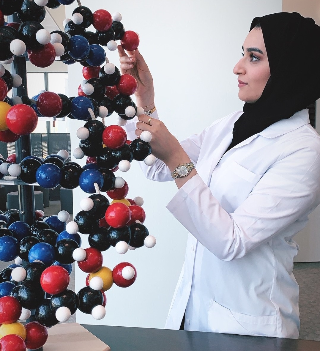 Student Spotlight: Amna Nasser Ahli, Future Doctor Helping Advance the UAE's Health Sector