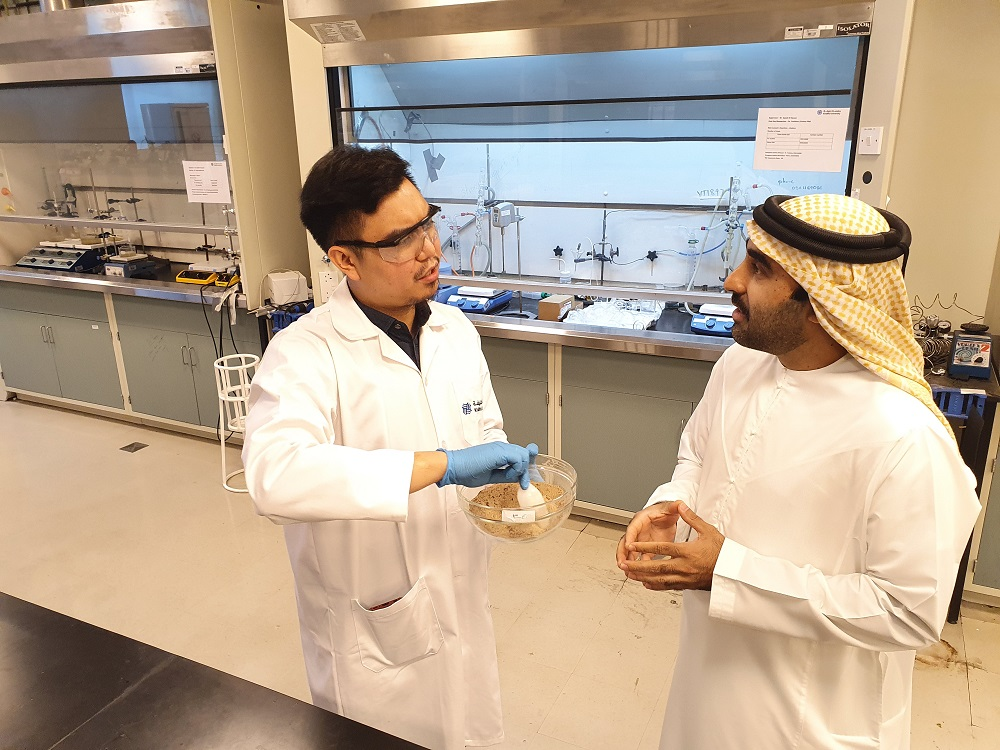 Emirati Researcher at Khalifa University Develops Technology for 'Artificial Soil' Suitable for Agriculture in UAE
