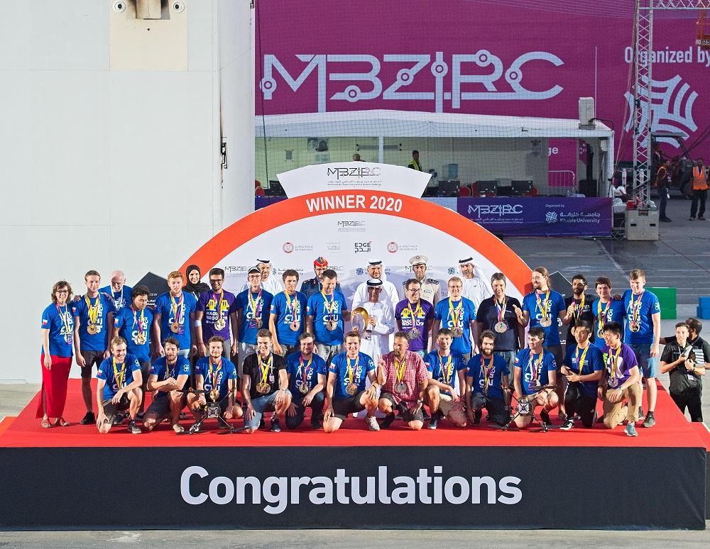 US$5 Million MBZIRC 2020 Winners Awarded