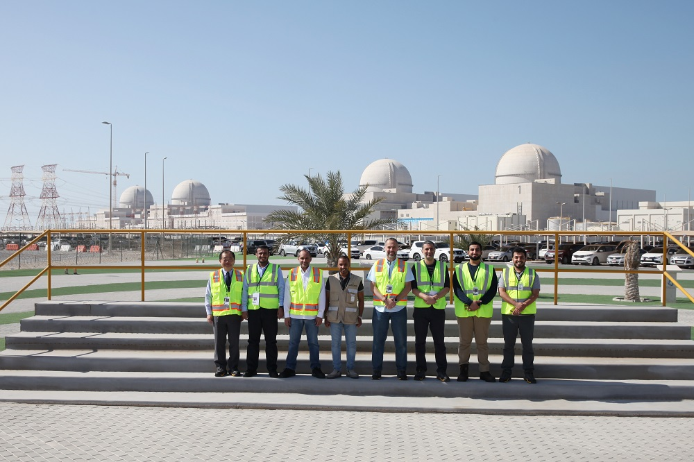 Five KU Faculty Visit Barakah Nuclear Energy Plant and Witness Historic Milestone