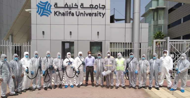 Khalifa University's Response to Covid-19