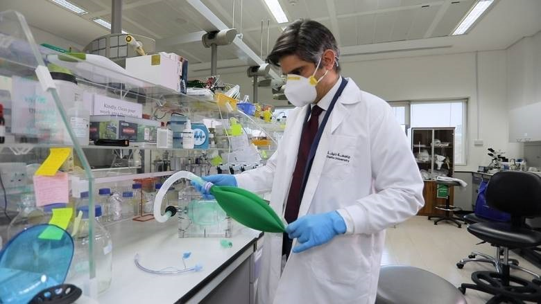 Combating Covid-19: Khalifa University in UAE develops emergency ventilators