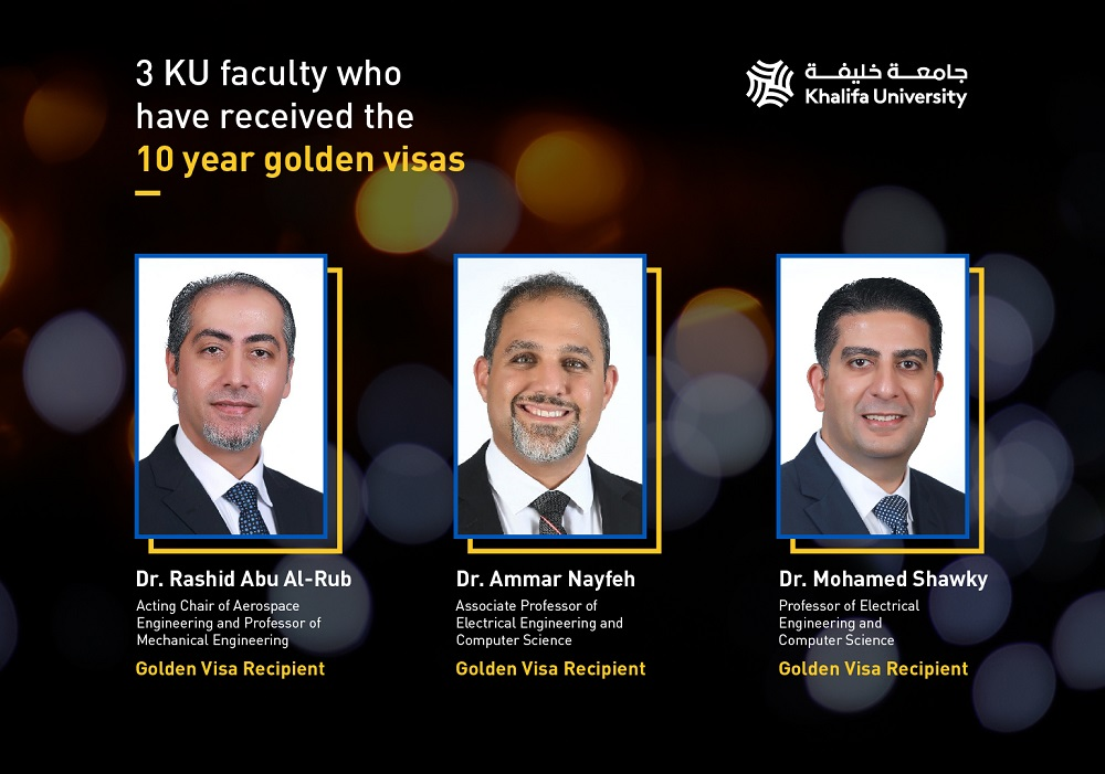 KU Prolific Scientists Awarded Golden Residency Visa