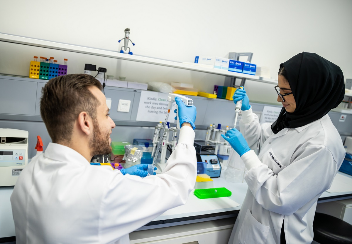 Khalifa University's Center for Biotechnology Receives DoH License for On-Campus COVID-19 Testing Facilities