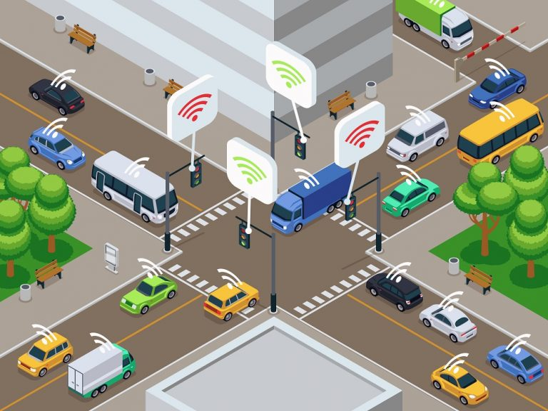 On the Edge of Smart and Secure Driverless Cars