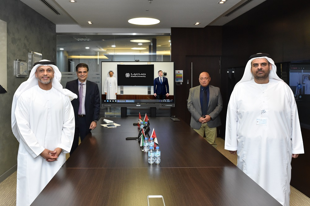 Khalifa University and Emirates Steel sign an MoU promoting collaboration in R&D