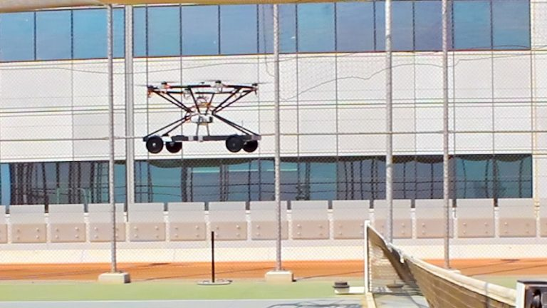 Senior Design Project Develops Concept for Flying Cars of the Future