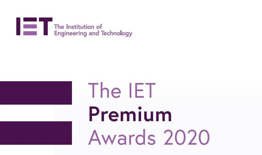 KU Research Paper Wins IET 2020 Premium Award for Best Paper