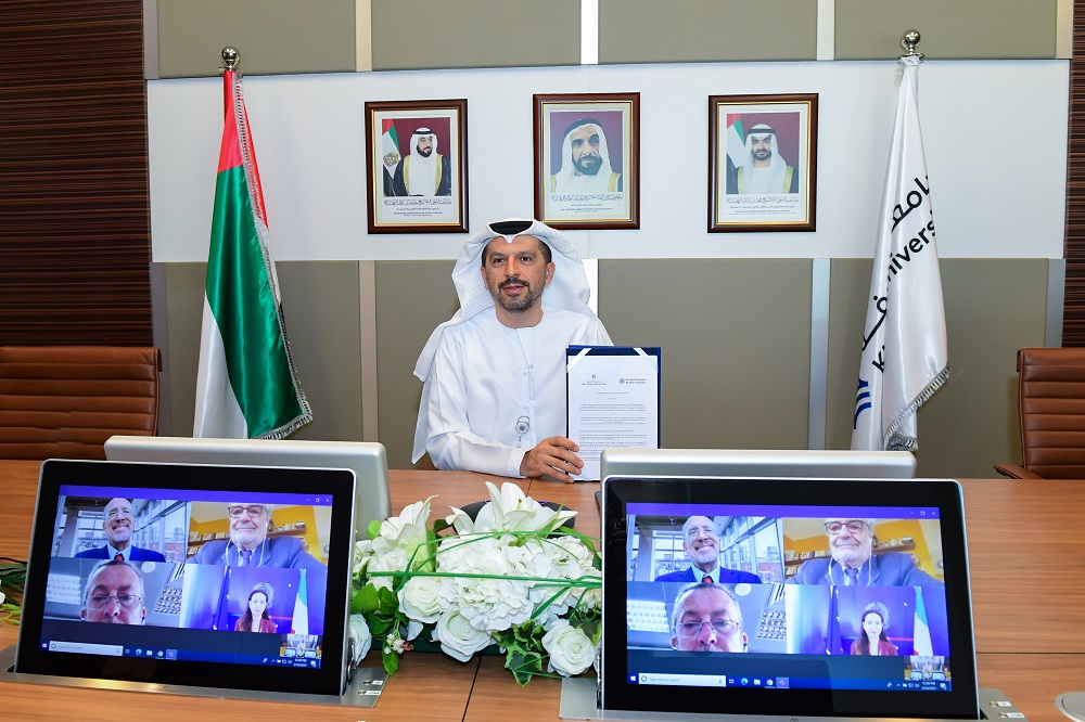 Khalifa University Working with Italy Pavilion at Expo 2020 Dubai to Promote International Scientific Cooperation