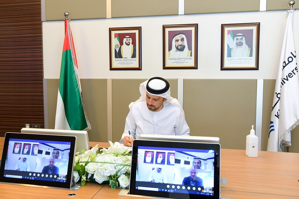 SCAD and Khalifa University Sign MoU to Boost Statistical Cooperation