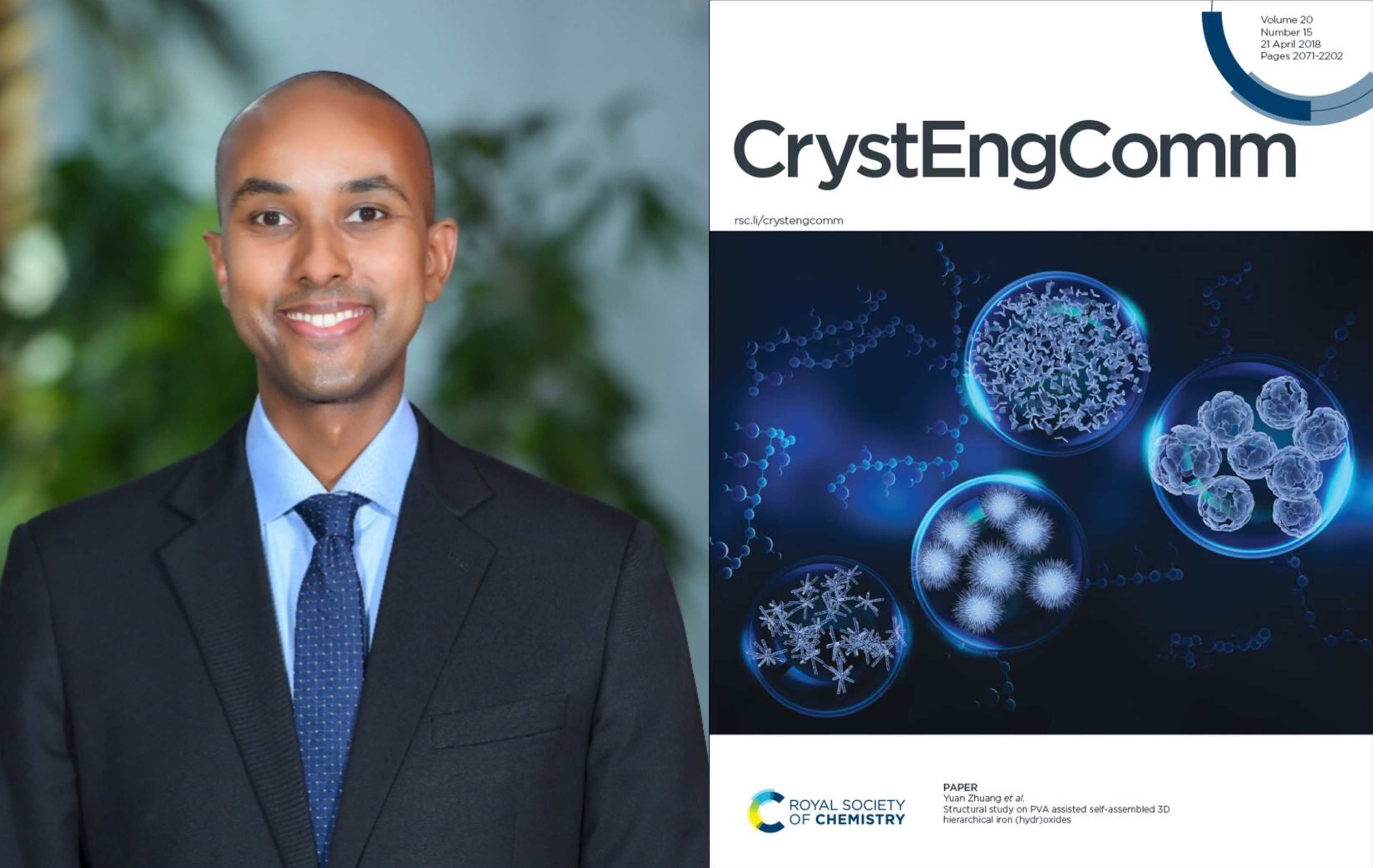 Chemistry Professor Joins RSC CrystEngComm Journal Advisory Board