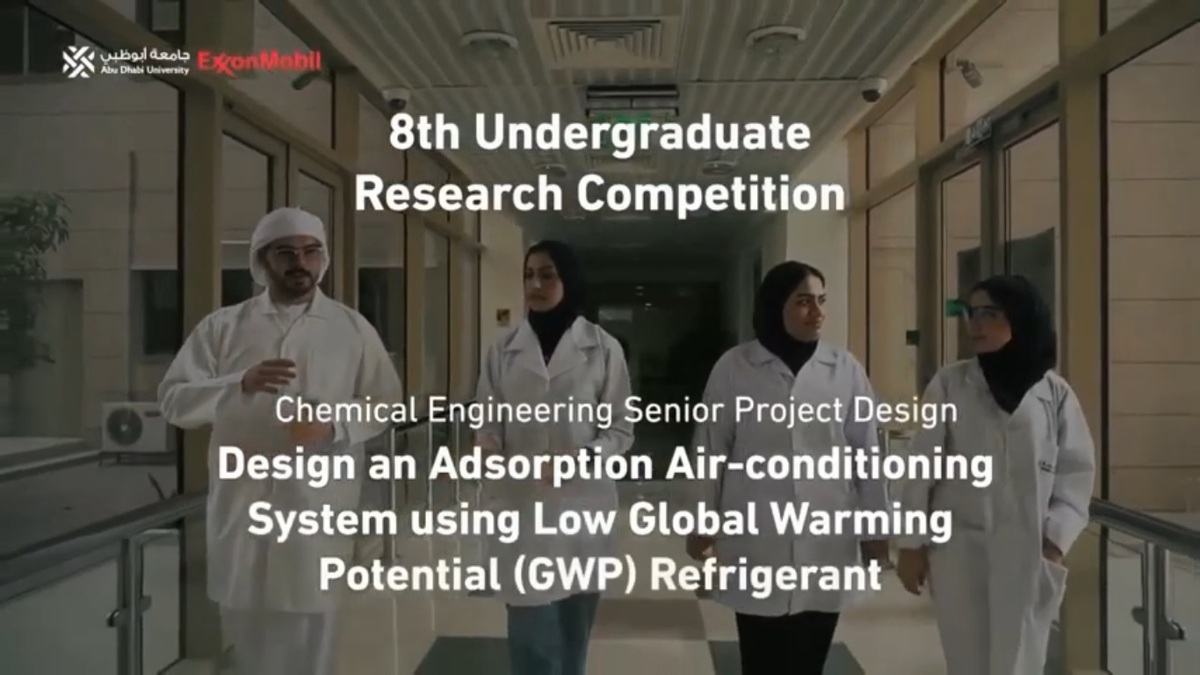 Research on Sustainable Refrigeration System Nabs 2nd Place Win at the 8th Undergraduate Research Competition
